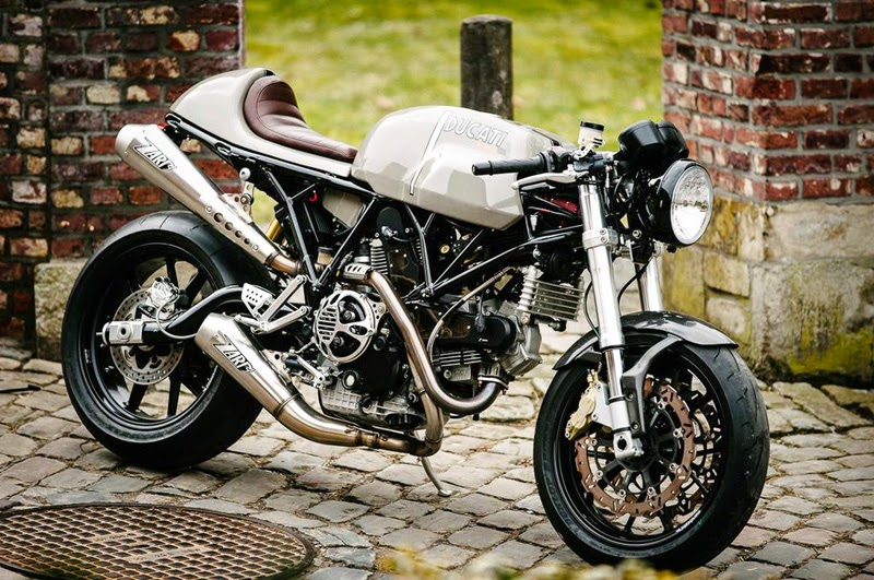 modifikasi ducati sport cafe racer