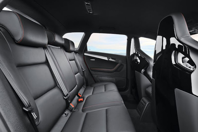 2012 Audi RS3 Sportback Back Interior
