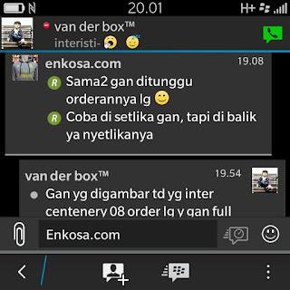 gambar tangkap layar Testimoni Irfan di enkosa sport toko online baju bola terpercaya