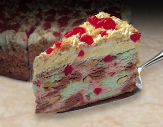 Spumoni Ice Cream Cake