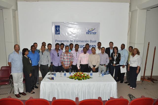 El Consorcio CAEI y el INFOTEP inician primer programa de formación dual de técnico azucarero