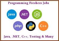 IT Software Freshers Job