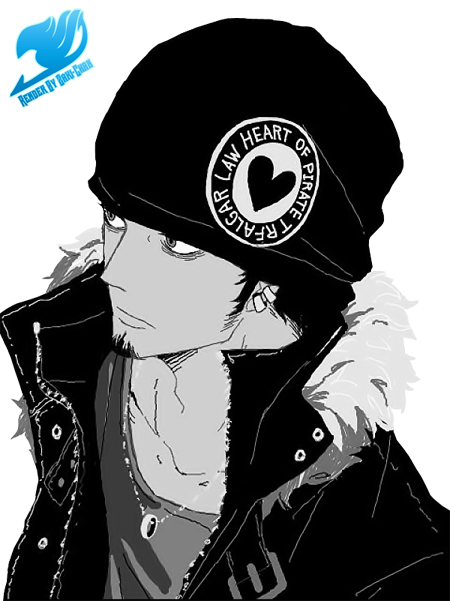 Render Trafalgar Law + One Piece