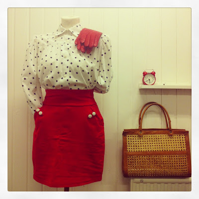 Marshmallow Electra vintage dress
