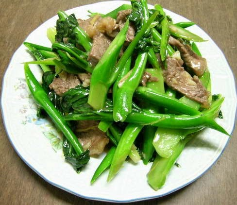 Cách làm món Thịt bò xào cải làn ngon