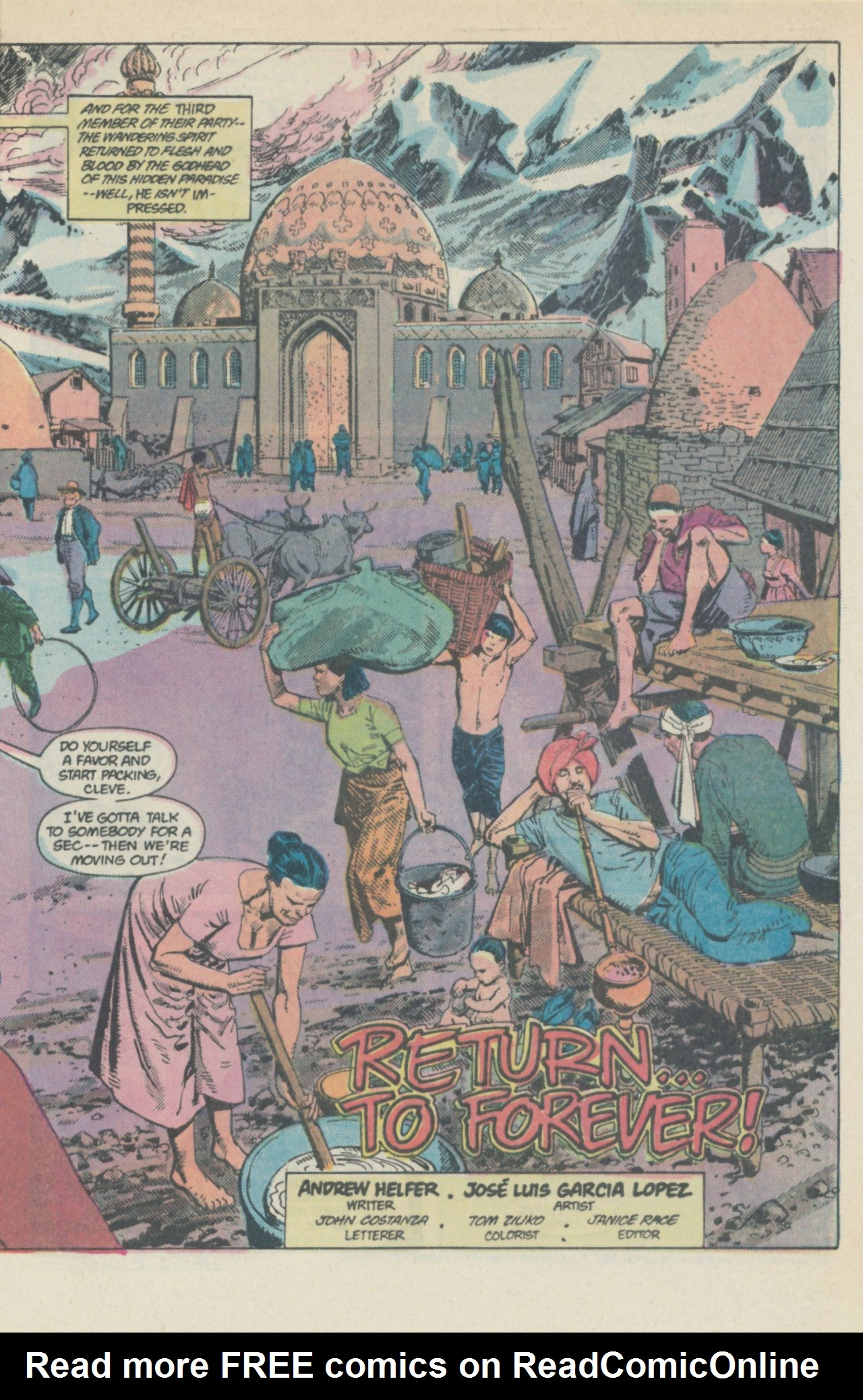 Deadman (1986) #1 #4 - English 6
