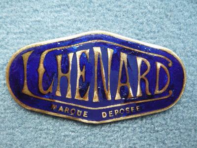 Louis Chenard radiator emblem badge vintage Walcker