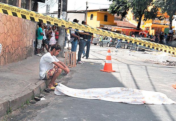 Salvador aparece entre cidades mais violentas do mundo (Foto: Mauro Akin Nassor/Arquivo CORREIO)