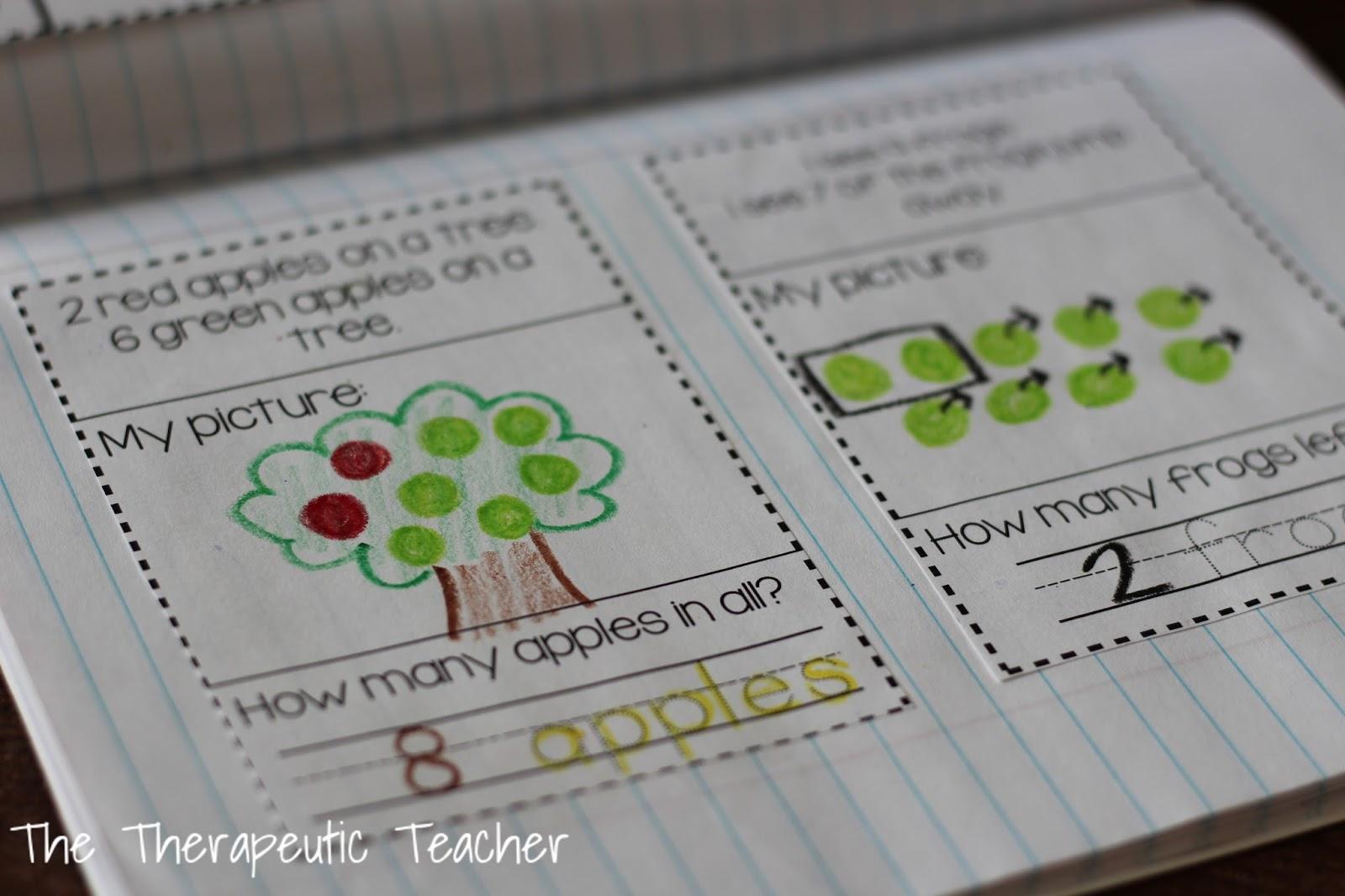 Kindergarten Interactive Math Journals PART TWO – Interactive Worksheets for Kindergarten