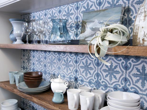 Peonies brass tile files bringing back encaustic for Cement tiles for kitchen