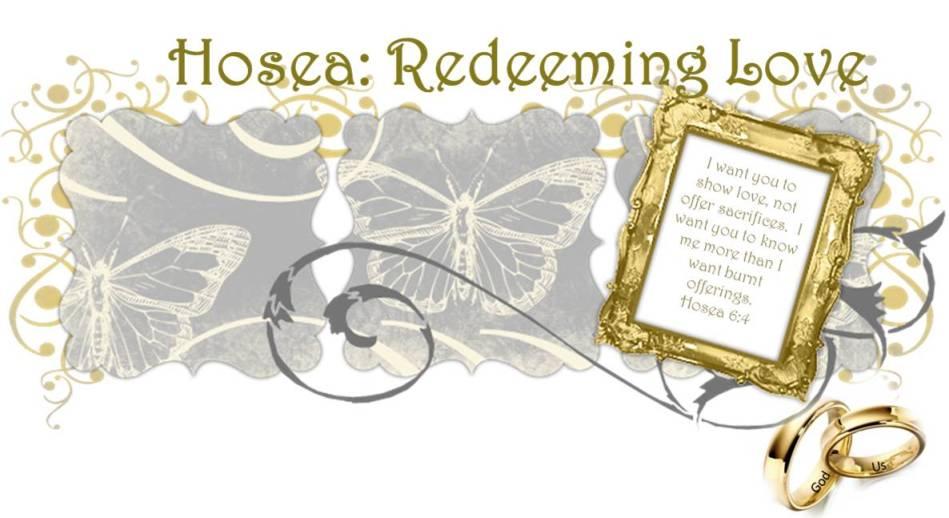 Hosea Bible Study