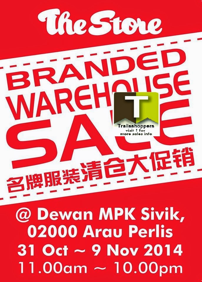 The Store Warehouse Sale offers arau perlis
