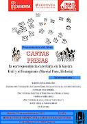 """Presentación del libro """"Cartas Presas"""","""