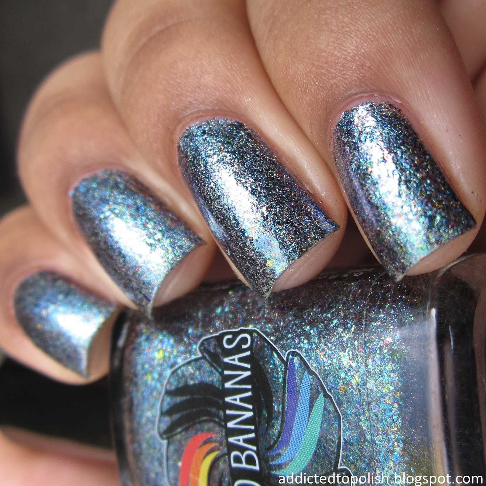 Indigo Bananas Event Horizon Holo Chrome Flakies