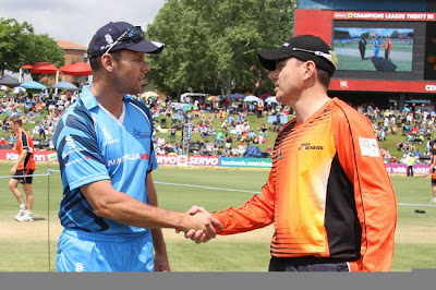 Titans-vs-Perth-Scorchers-CLT20-2012