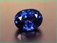 51st Anniversary Gift Blue Sapphire