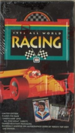 All World Indy Car Cards