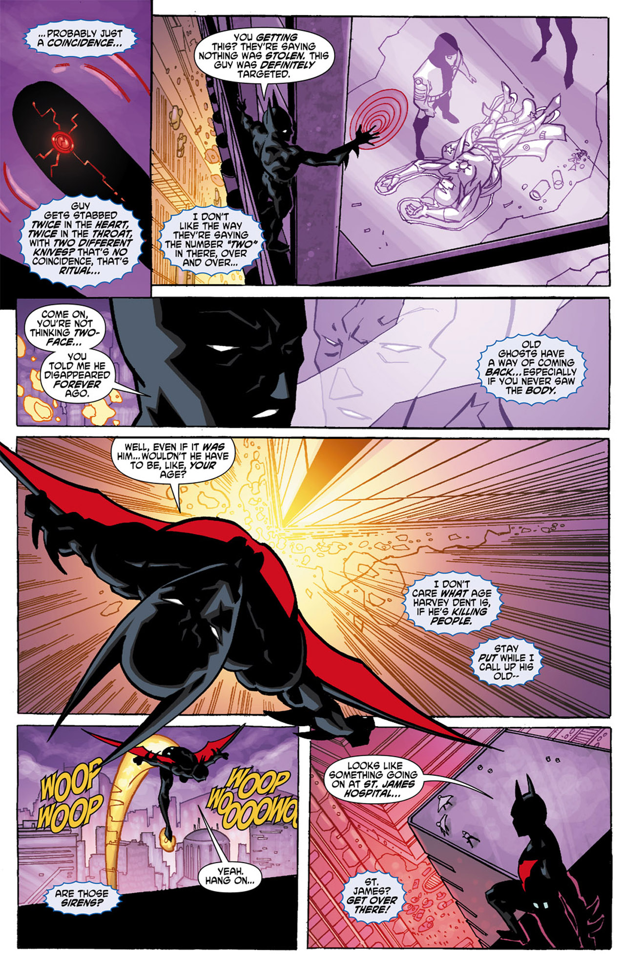 Batman Beyond (2010) Issue #1 #1 - English 19