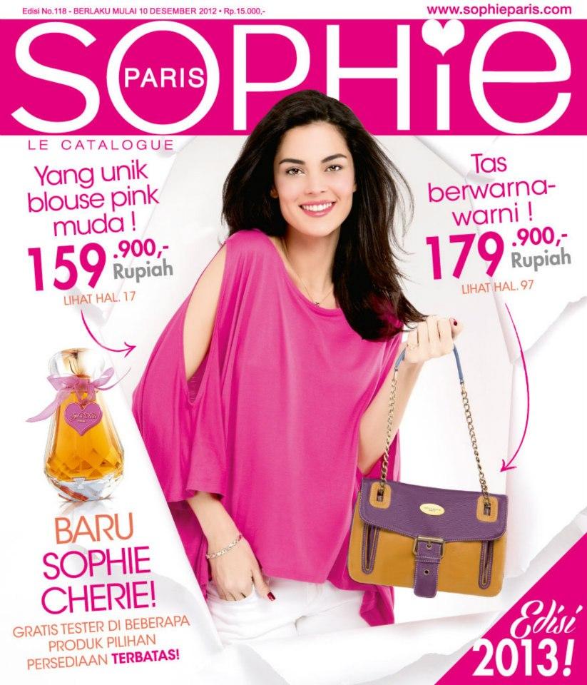Katalog Sophie Martin Paris terbaru edisi Natal 2012 & Tahun Baru 2013 ...