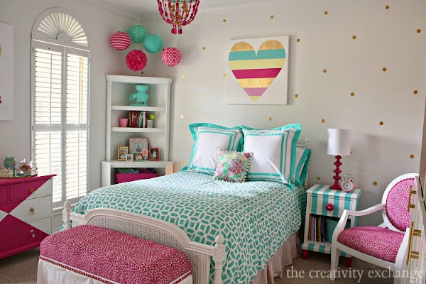 Decoracion Juvenil Vintage ~ Dormitorio juvenil lleno de color Decoraci?n  General Cocochicdeco