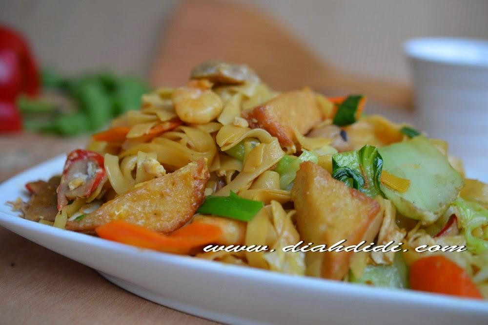 Diah didi 39 s kitchen kwetiau kekian goreng for Aja asian cuisine menu