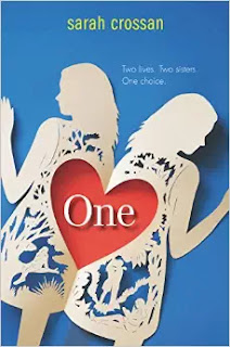 One by Sarah Crossan book cover