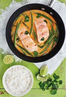 Coconut and coriander fish