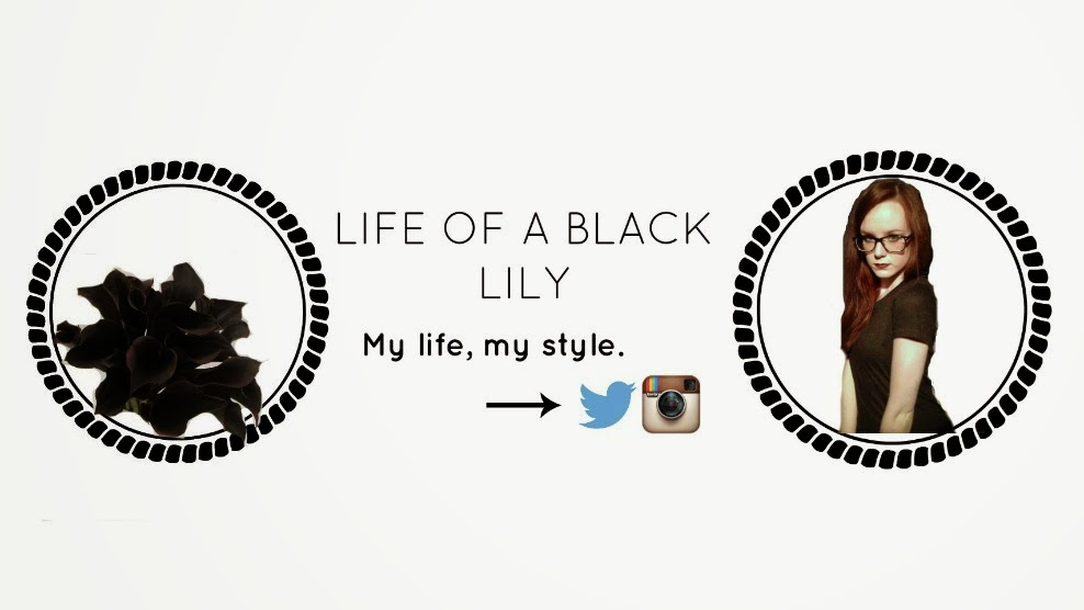 LIFE OF A BLACK LILY