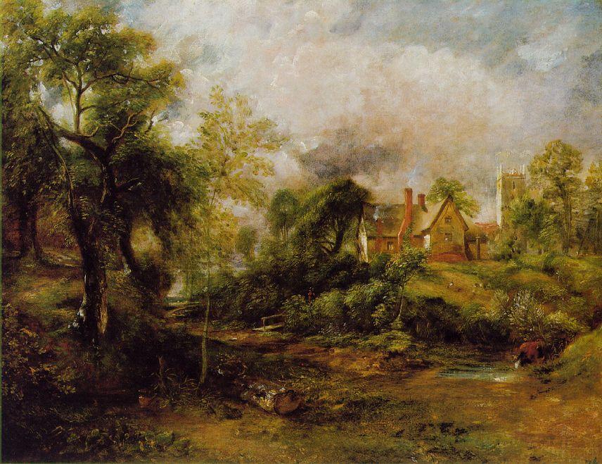 Cuadro al oleo Constable
