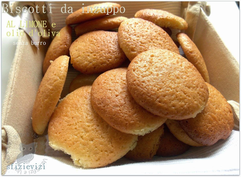 biscotti da inzuppo al limone con olio d'oliva - facili e senza burro -