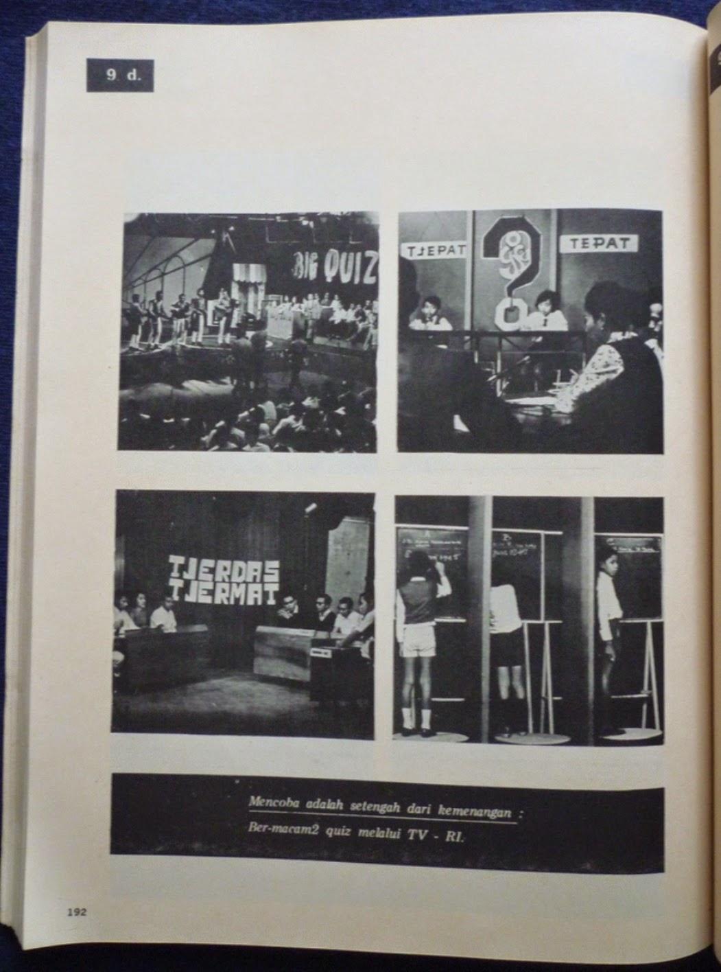 Koleksi Tempo Doeloe: Televisi di Indonesia TVRI 1962-1972