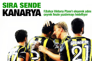 Fenerbahçe Viktoria Plzen karşısında