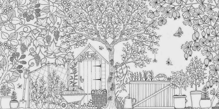 Therapeutic And Fun Secret Garden Coloring Book By Johanna Basford Is Welcomed Since Its Publishing Download Colour In The Free Colouring Page For