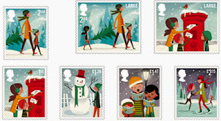 United Kingdom: Christmas 2014 Stamp