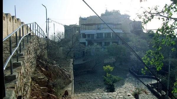 Gad ganesh temple jaipur morning view