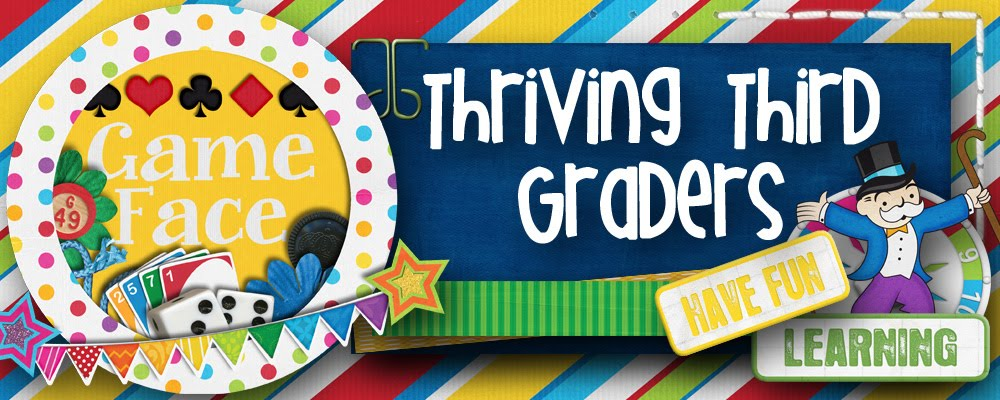 Thriving Third Graders!