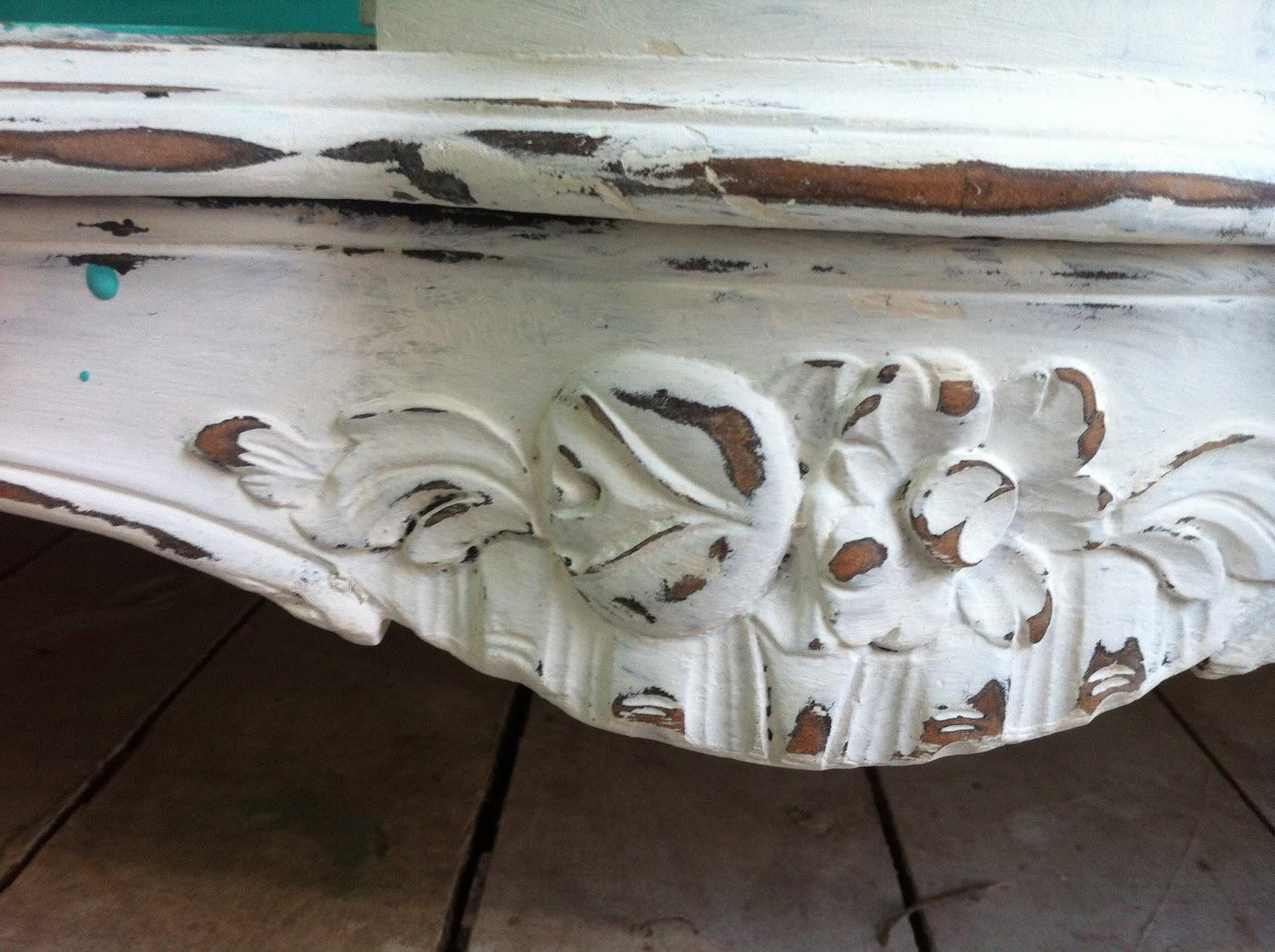 Decapar muebles en blanco perfect mueble tv calcutta oriental blanco decapado with decapar - Decapar muebles barnizados ...