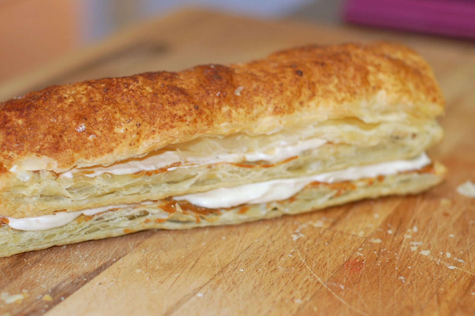 The Sweet Chick: Churro Puff Pastry