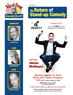Stand Up Comedy at the Saint John Theatre Company