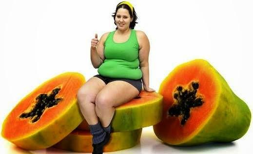 Cepat kurus dan langsing dengan buah pepaya
