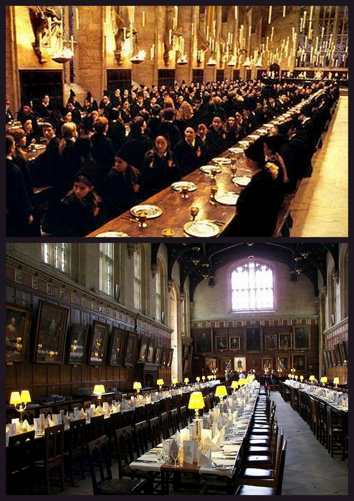 La claqueta de ale for Comedor harry potter