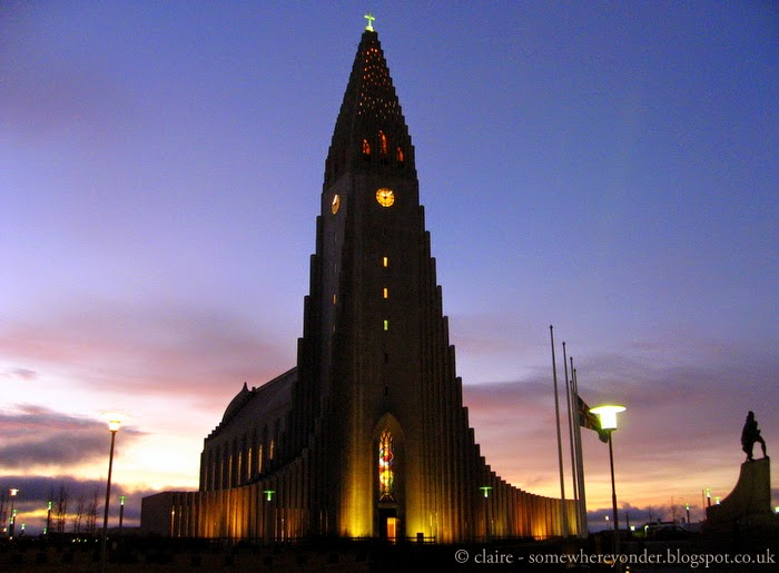 Hallgrímskirkja (the church of Iceland)