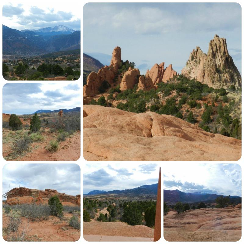 Pikes Peak In Colorado Springs: Bead And Needle: COLORADO SPRINGS, PIKES PEAK, AND GARDEN