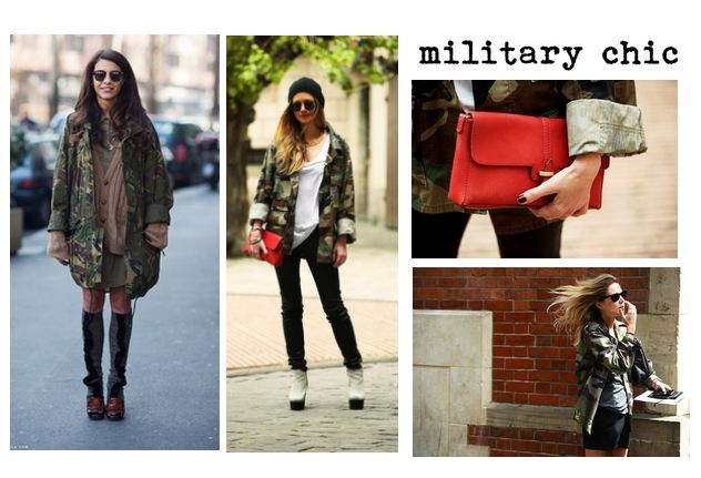 Fall 2012 fashion trend the camo jacket
