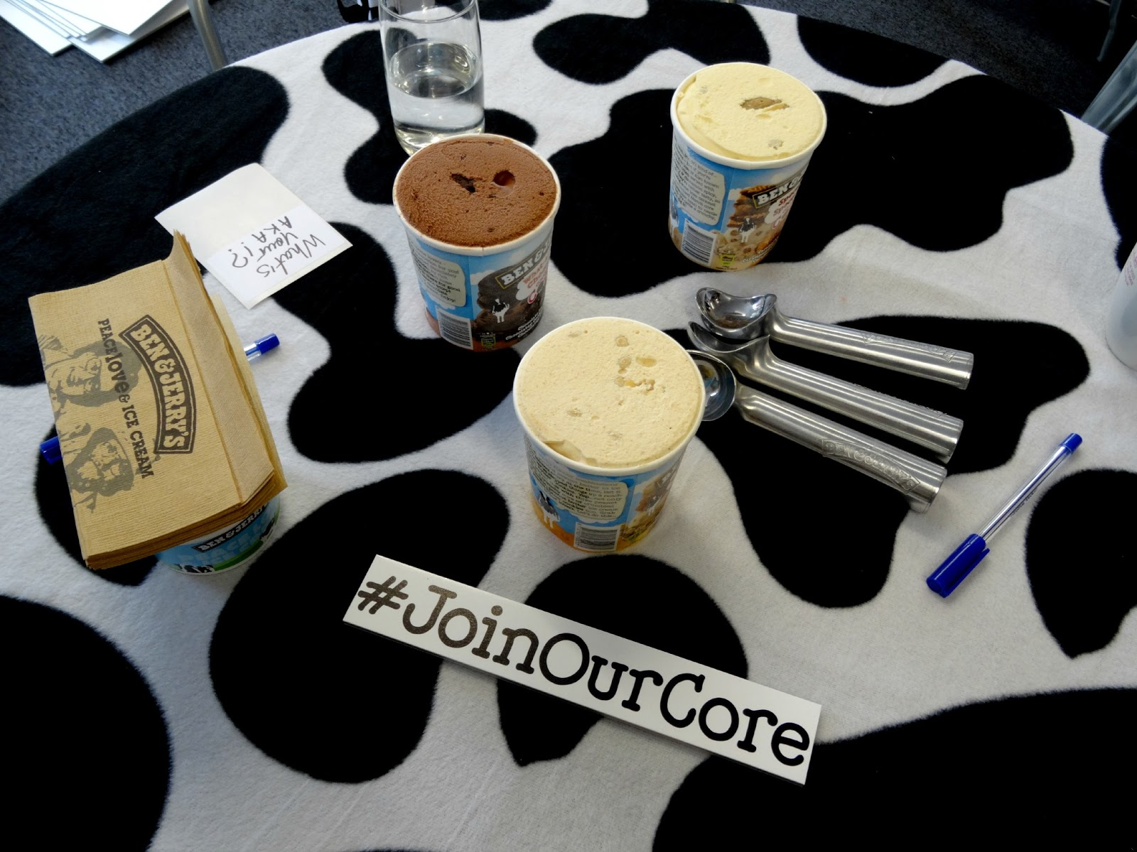 Join our Core Ben and Jerrys scooping competition