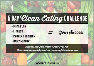 Fit for Fall 5 Day Clean Eating Challenge - Julie Little Fitness, www.HealthyFitFocused.com