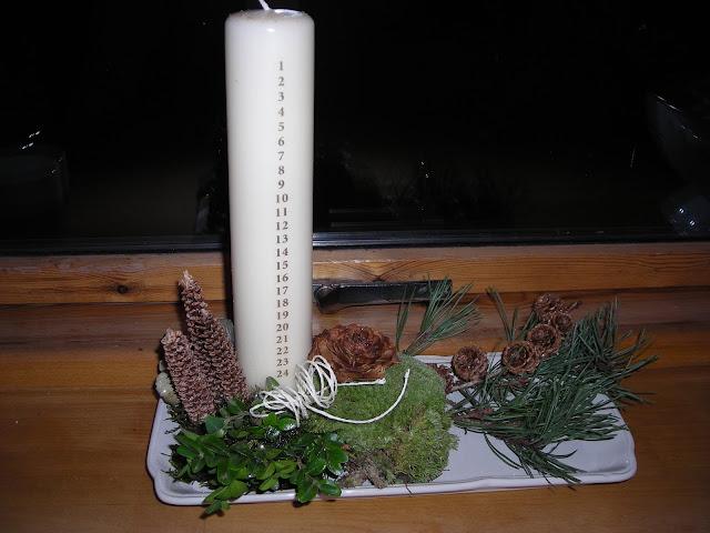 Mit lille gods: juledekorationer og juleroser!