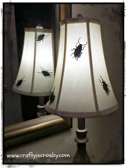 Halloween, roaches, Halloween Decorations, Halloween DIY