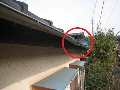 横浜市 港北区 雨樋設置交換 既存雨樋 経年劣化 痛み