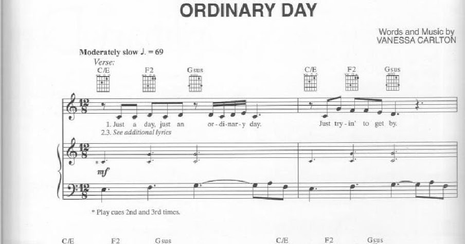 vanessa carlton ordinary day